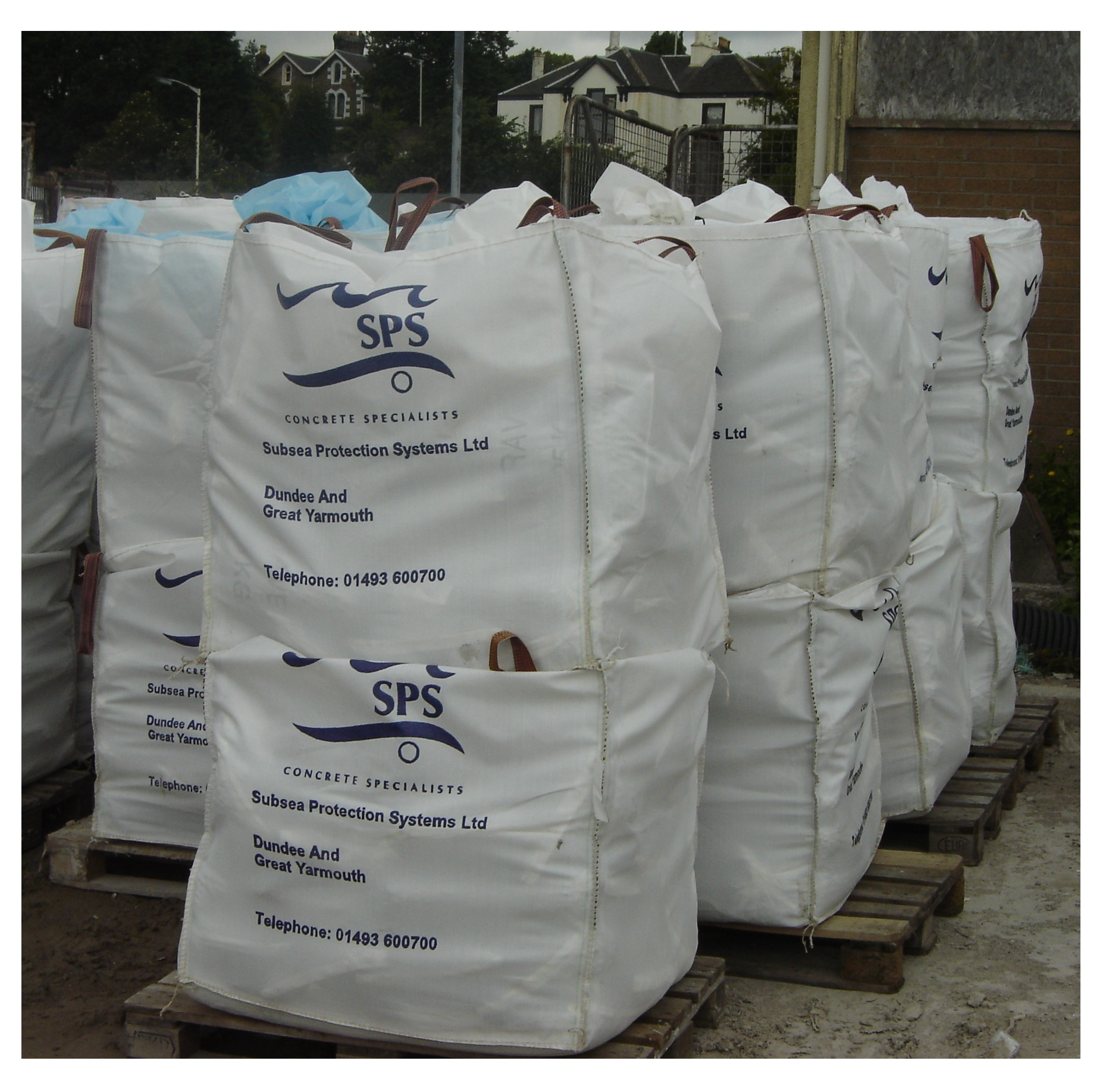Grout, Sand and Gravel Bags